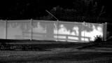 BW HDR Shadows on Wall Raw
