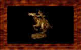 Pony Express Sculpture