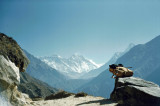 On the way to the Everest