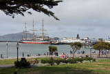 Historical Ships at the Hyde Street Pier