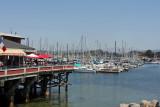 Monterey harbour