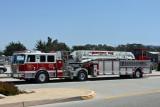 Monterey fire truck