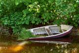The forgotten boat in the creak / Båden i åen