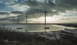 Windmills near the sea / Vindmøller ved havet