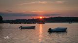 Sundown in the bay