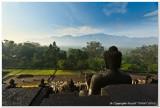 Borobudur in the Mist