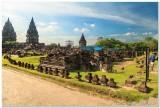 Prambanan Restoration area
