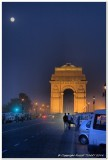 Full Moon over India Gate