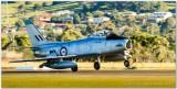 CAC Sabre (F-86) Landing