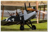 WW1 Re-enactment Royal Aircraft Factory B.E.2