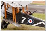 Rear Gunner in Royal Aircraft Factory B.E.2