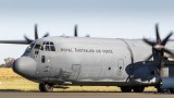 RAAF Lockheed Martin Hercules C130J