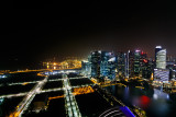 View from the top of Marina Bay Sands
