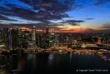 Sunset Over Singapore