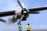Lockheed Super Constellation Cold Engine Start