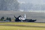 F4U Corsair Wheels Up Landing