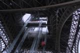 Iron lattice tower structure
