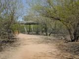 Indian Hut at the Botanical Gardens