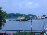 A Tug boat on the Savannah River