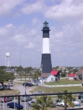Tybee Lighthouse from Atop Fort Screven