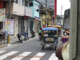 Our Bus Following Traffic in Iquitos