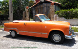 Orange Convertible