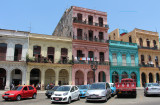 Street Block in Downtown Havana