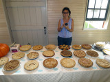 JSM Homestead Apple Fest Pies with a Happy Donna