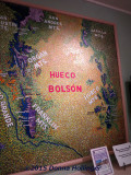 A Map Showing the Mountains Surrounding Bosque