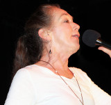 Linda Singing New Year's Eve, 2014