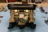 Weber 40 IDT3C Carburetor & Air Cleaner Base