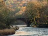 The  River  Annan, at  Hoddom  Bridge.