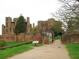 Ann  at  the  North  Gate , Kenilworth  Castle