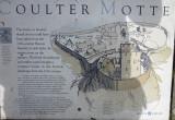 Coulter  motte  information  board.