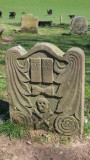 An  ancient  tombstone