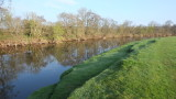 The  River  Eden  flowing  gently  to  the  sea.