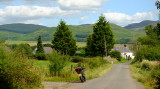 Looking  east  across  Milton  Farm , Beattock.