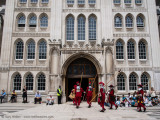 Beating the bounds, London Guildhall