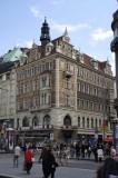... in the shops on Václavské náměstí