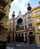 as evening approaches, we head past the Moorish Revival Jubilee synagogue