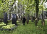 ...we visit an historic Jewish cemetery
