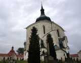 ...an unsual 5-sided Baroque-style church
