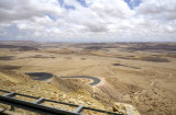 so we get to see some of the high mountains in the Negev desert