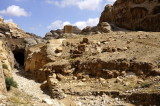 here the Nabataeans cut channels in the rock to control water