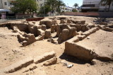 but history is everywhere: the ruins of a Roman church from ca. 300CE