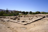 nearby, relics of the 7th~11th c. Islamic city of Ayla