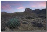Guadalupe Mountains National Park - El Capitan Morning 2