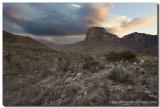 Guadalupe Mountains National Park - El Capitan Sunrise 5