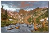 Colorado Images - Lake Isabelle Sunrise 1