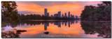 Austin Skyline Image - An Austin Panorama from Lou Neff Point